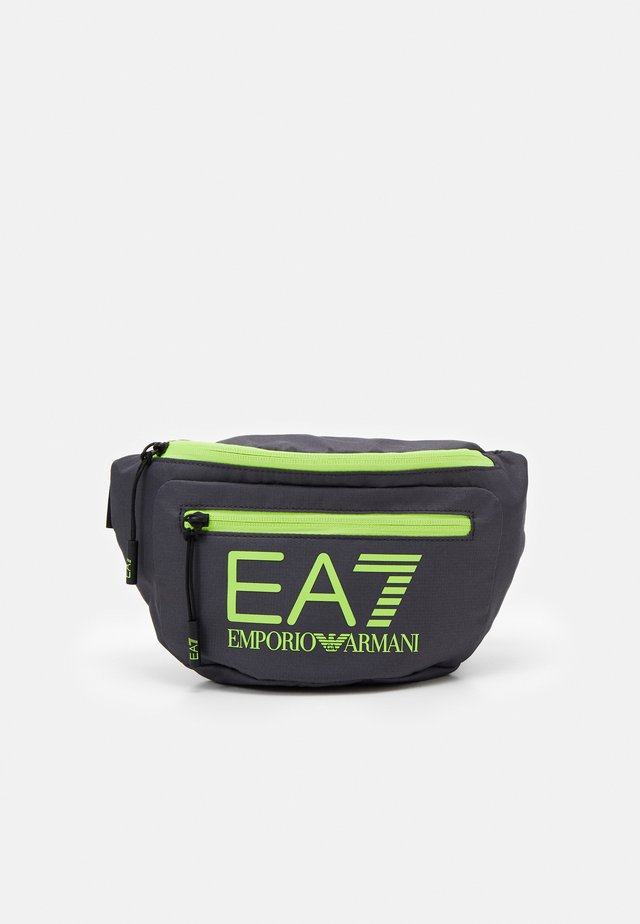 BELT BAG UNISEX - Bum bag - antracite/yellow flu