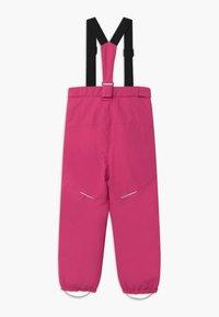 Name it - NKFSNOW03 PANT - Spodnie narciarskie - fuchsia purple - 1