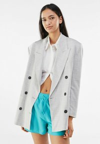 Bershka - Short coat - grey - 0