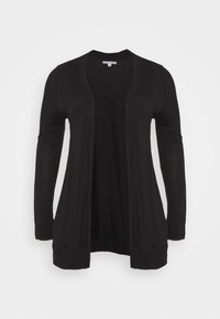 CAPSULE by Simply Be - BOYFRIEND CARDIGAN - Cardigan - black - 4