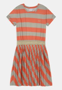 BOSS Kidswear - Jersey dress - coral - 0