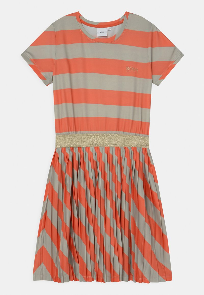 BOSS Kidswear - Jersey dress - coral