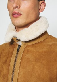 Serge Pariente - KENNEDY - Leather jacket - camel - 5