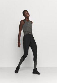 Ellesse - SHARLA - Sports shirt - dark grey marl - 1