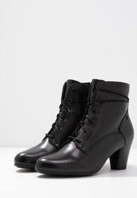 Be Natural - WOMS BOOTS - Botines bajos - black - 4