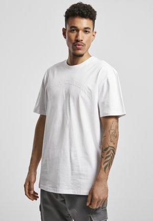 OVERSIZED - Print T-shirt - white
