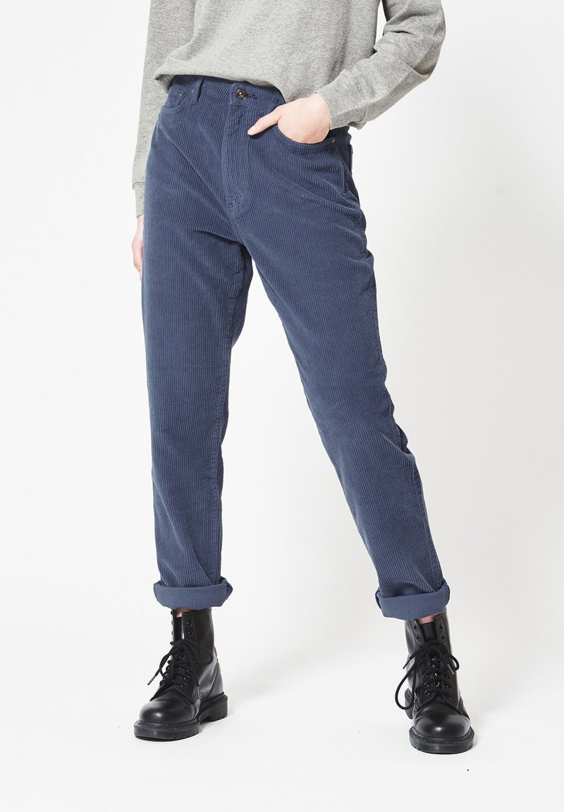 America Today - JADAN CORD - Jeans Tapered Fit - old school blue
