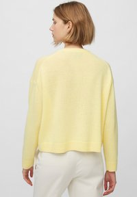 Marc O'Polo - ROUND NECK - Cardigan - bleached sun - 2
