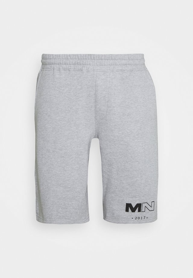 CLUB DRAWCORD - Trainingsbroek - grey marl
