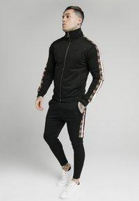 SIKSILK - RETRO ZIP THROUGH - Cardigan - black - 1