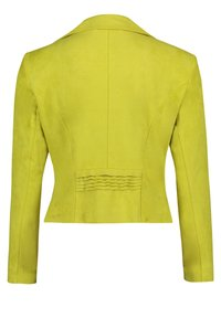 Betty Barclay - Faux leather jacket - yellow - 4