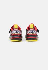 adidas Performance - FORTARUN SUPERHERO UNISEX - Neutral running shoes - core black/footwear white/vivid red - 2