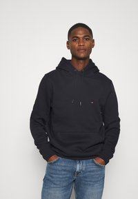 Tommy Hilfiger - BASIC FLAG HOODY - Sweat à capuche - blue - 0