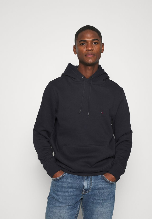BASIC FLAG HOODY - Sweat à capuche - blue