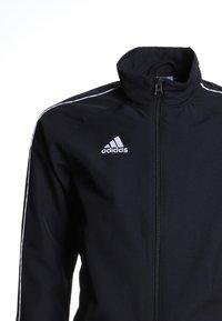 adidas Performance - CORE PRE - Kurtka sportowa - black/white - 2