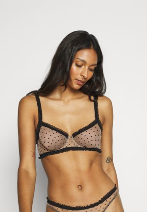 SIMONE BRA - Underwired bra - nude/black