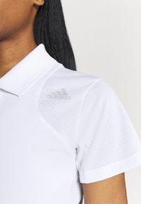 adidas Performance - CLUB TENNIS AEROREADY - T-shirt sportiva - white/grey two - 5