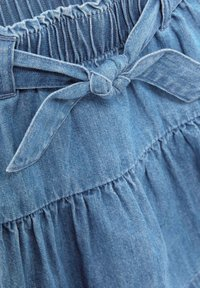 Next - A-line skirt - blue denim - 2