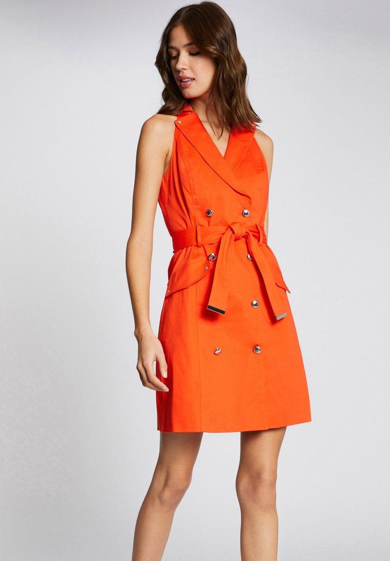 Morgan - Shirt dress - orange