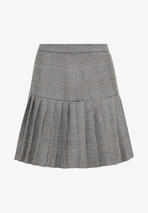 MIT GLENCHECK-KARO - Pleated skirt - multicolor