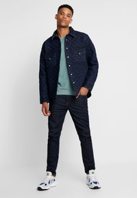 Levi's® Made & Crafted - QUILTED WESTERN - Kurtka jeansowa - lmc outback - 1