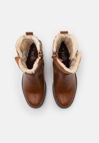 Wallis - AMANDA - Wedge Ankle Boots - cognac - 5