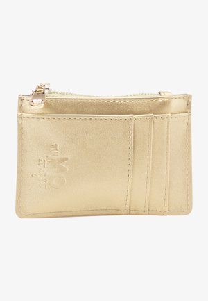 Wallet - gold metallic