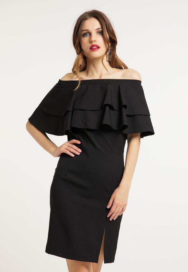 ETUIKLEID - Etui-jurk - schwarz
