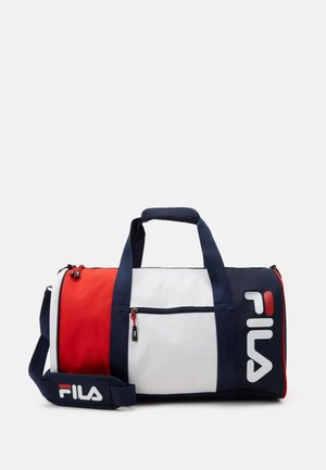 SPORTY DUFFEL BAG - Sportstasker - black iris/bright white/true red