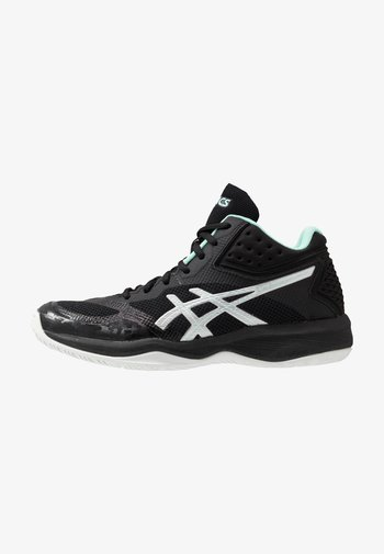 NETBURNER BALLISTIC FF - Volleyball shoes - black/pure silver
