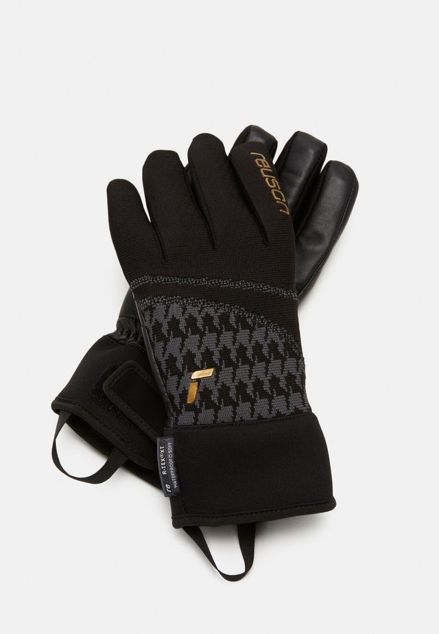 VICTORIA R-TEX® XT - Sormikkaat - black/gold