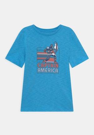 BOYS TEE - Print T-shirt - delta blue