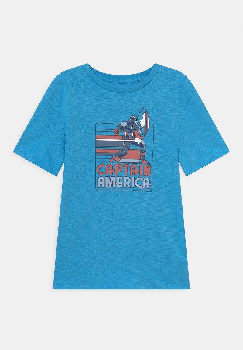 GAP - BOYS TEE - Print T-shirt - delta blue