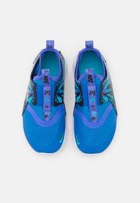 Nike Performance - FLEX RUNNER LIL PSV UNISEX - Neutral running shoes - signal blue/multicolor/sapphire/chlorine blue - 3