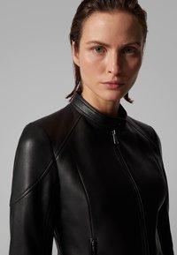BOSS - SAFLAMA - Leather jacket - black - 5