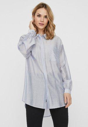 Button-down blouse - cashmere blue