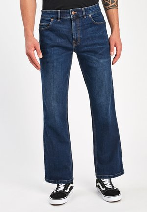WITH STRETCH - Bootcut jeans - blue denim