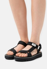 ONLY SHOES - ONLMALU CHUNKY WRAP  - Sandály - black - 0