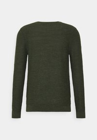 Selected Homme - SLHBUDDY CREW NECK - Jumper - rosin/uneven budding yarn - 1