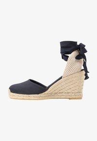 ALOHAS - CLARA BY DAY - High heeled sandals - navy - 1