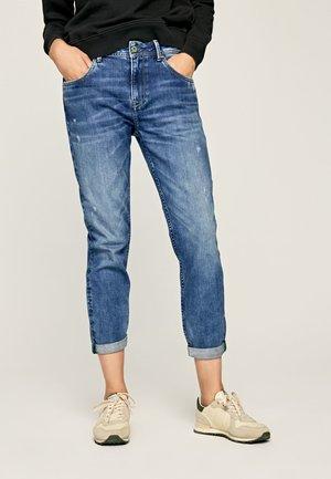 VIOLET - Slim fit jeans - blue denim