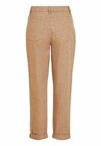 Vila - HOHER BUND - Straight leg jeans - tigers eye - 6