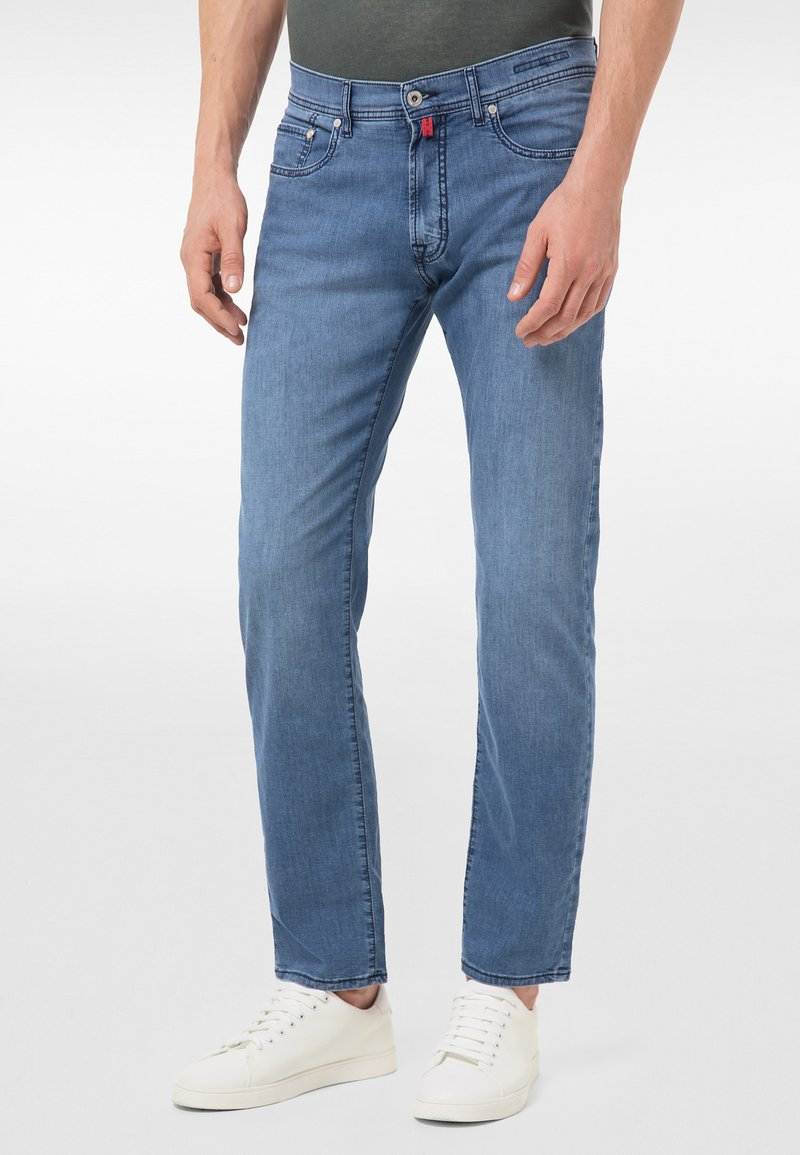Pierre Cardin - Straight leg jeans - mid blue washed