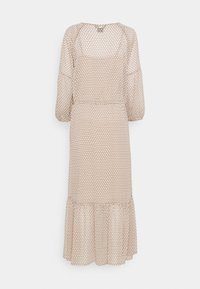 DKNY - PEASANT DRESS - Vestito lungo - brown - 1