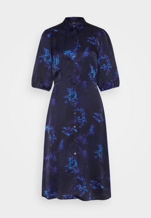 DRESS 2-IN-1 - Shirt dress - dark blue