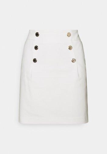 JIPLI - Mini skirt - off white
