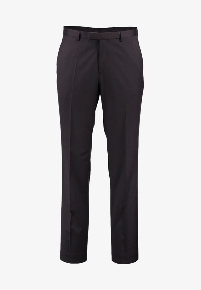 LENON_CYL - Suit trousers - schwarz