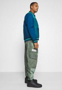 Jordan - PANT - Trousers - spiral sage/white - 3