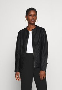 Soyaconcept - SC-AMALIE 4 - Faux leather jacket - black - 0