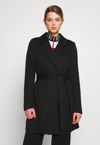 VMVERODONA TRENCHCOAT - Short coat - black
